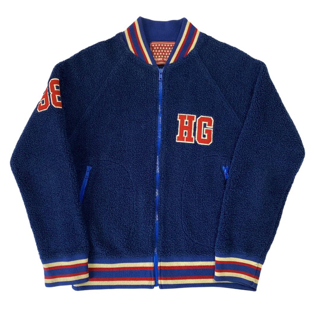 S Hysteric Glamour 1998 Royal Fleece Jacket