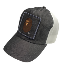 Load image into Gallery viewer, Bape Ape Head Logo Denim Trucker