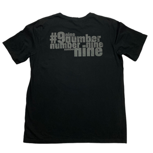 XL Number Nine Nine Inch Nails Blackout Tee