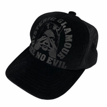 Load image into Gallery viewer, Hysteric Glamour Velvet See No Evil Trucker