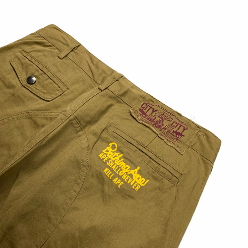 XL Bape Chino Work Pants 36 X 36