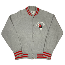 Load image into Gallery viewer, L Bape Chenille Letterman Varsity Jacket