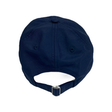 Load image into Gallery viewer, Number Nine Navy Circle Logo Hat