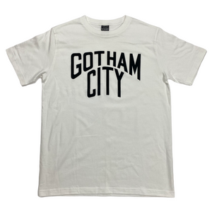 M Number Nine Suede Print Gotham City Tee