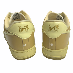 9.5 Bape Beige/Tan Sta With Box