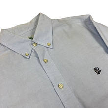 Load image into Gallery viewer, M Bape Ursus Light Blue Oxford Shirt