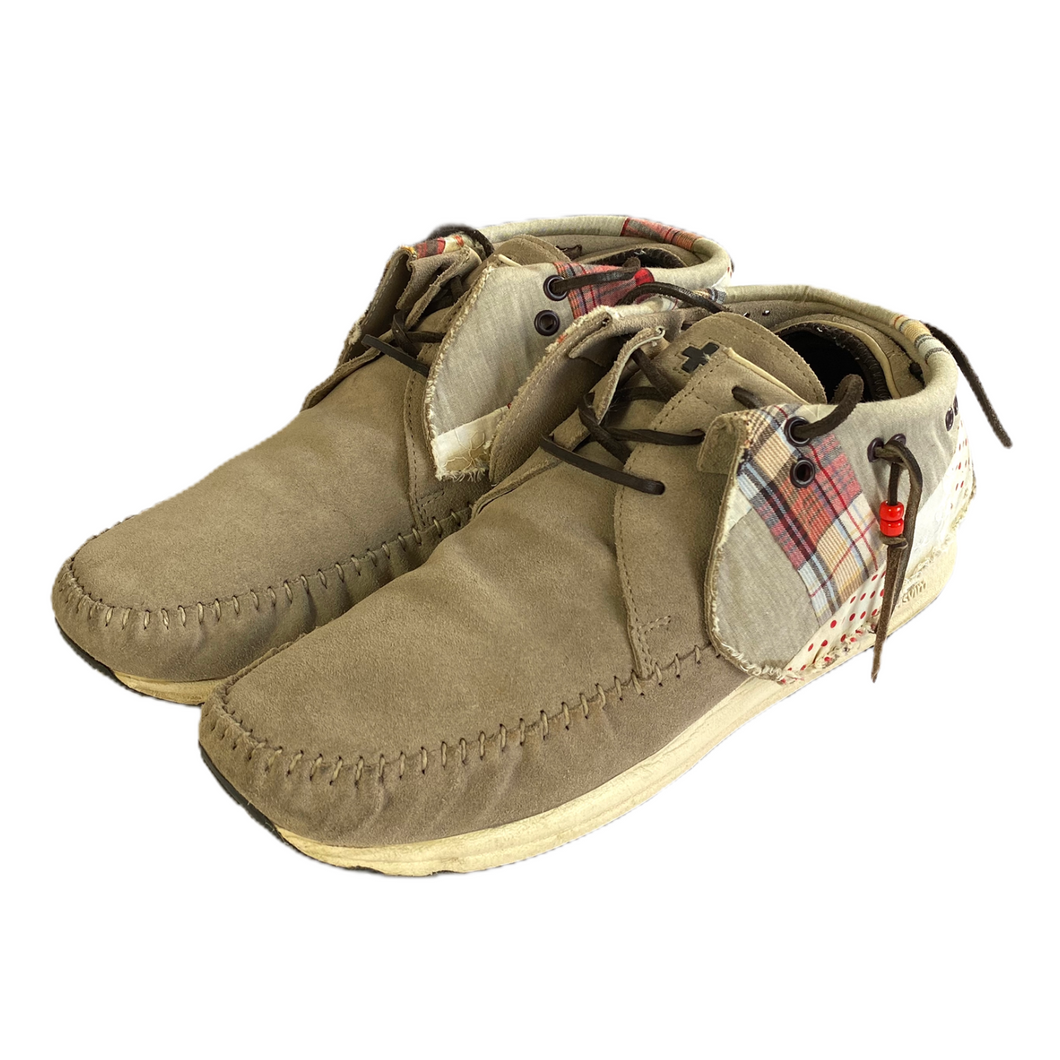 8 VISVIM Patchwork Suede FBT WITH BOX
