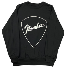 Load image into Gallery viewer, M Number Nine x Studious Guitar Pick Crewneck