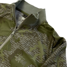 Load image into Gallery viewer, M Stussy X Futura Labs Zip Up Jacket