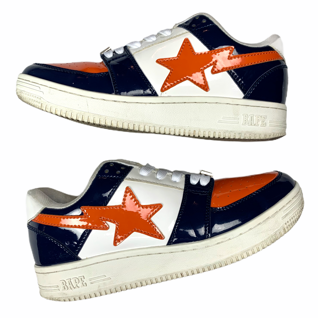 9 Bape Sta Navy/Orange Bronco