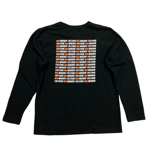 S Number Nine Repeater Logo Long Sleeve