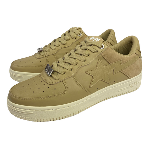 9 Brand New Beige Bape Sta XXI Low With Box
