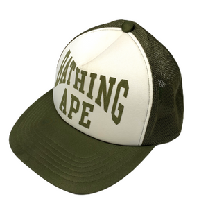 Bape Olive NYC Trucker Hat