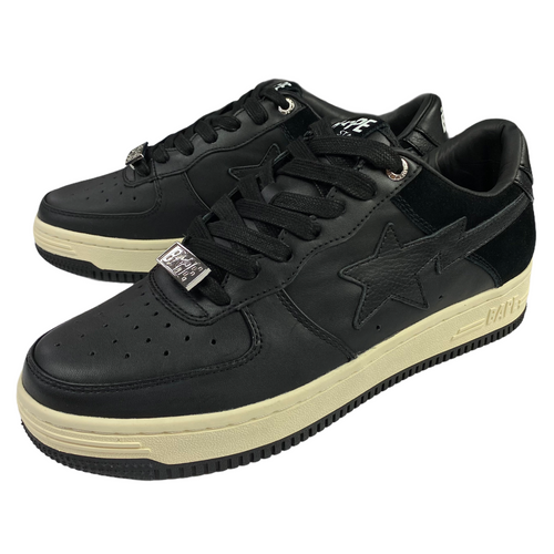 7 Brand New Black Bape Sta XXI Low With Box