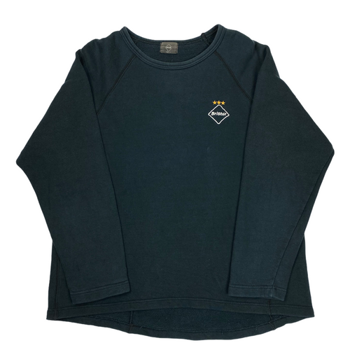 M FCRB Navy Long Sleeve Crewneck