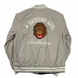 M Bape Chain Stitch Reversible Cotton Jacket