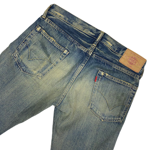 "30"" x 32"" Hysteric Glamour Marked Distressed Denim"