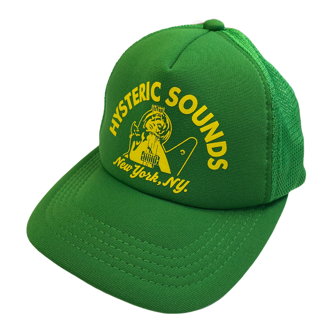 Hysteric Glamour Green New York Trucker Hat