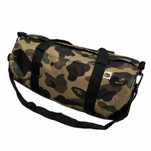 Bape 2013 Camo Nylon Gym Bag