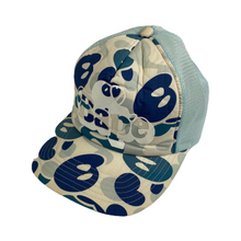 Load image into Gallery viewer, Bape Baby Milo Blue Camo Trucker Hat