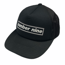 Load image into Gallery viewer, Number Nine Box Logo Trucker