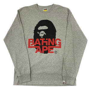 Brand New XL Bape Planet Of The Apes Long Sleeve
