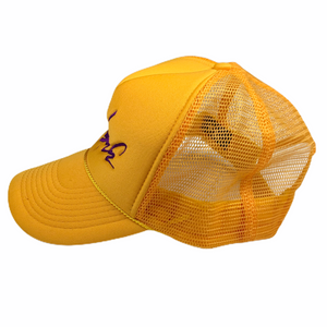Futura Yellow/Purple Signature Trucker