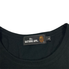 Load image into Gallery viewer, L Bape Mr Bathing Ape Head Long Sleeve