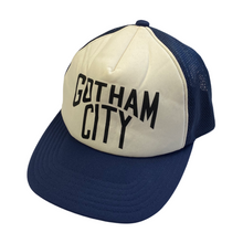 Load image into Gallery viewer, Number Nine Navy Gotham City Trucker Hat