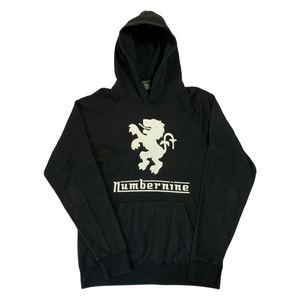 L Number Nine Lion Emblem Hoody