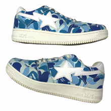 Load image into Gallery viewer, 10 Bape Blue ABC Camo Sta With Box