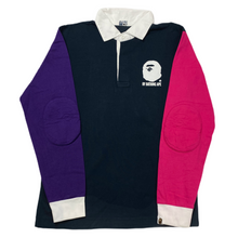 Load image into Gallery viewer, M Bape Split Long Sleeve Polo
