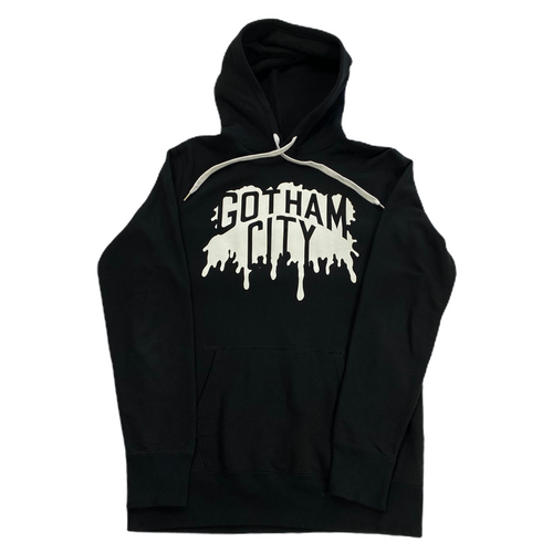 M Number Nine Gotham City Splatter Hoody