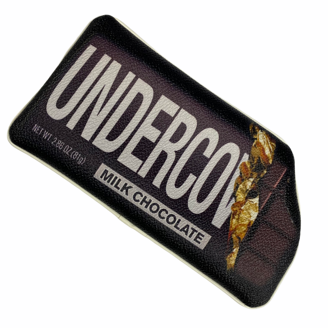 Undercover Hershey Bar Leather Pouch