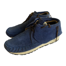 Load image into Gallery viewer, 9 VISVIM Blue Suede FBT