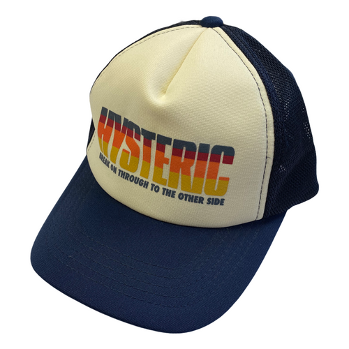 Hysteric Glamour Break On Through Rainbow Trucker Hat