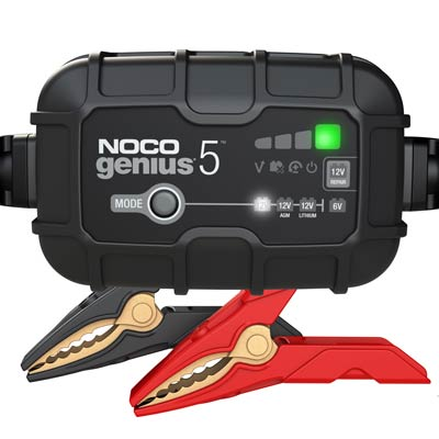 NOCO Genius 5 12V 5 AMP BATTERY CHARGER