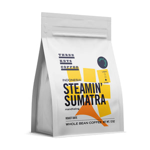 Indonesia Steamin' Sumatra - Single Origin - Three Keys Coffee