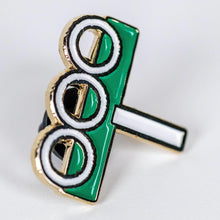 Load image into Gallery viewer, 3KC Enamel Pin - Three Keys Coffee