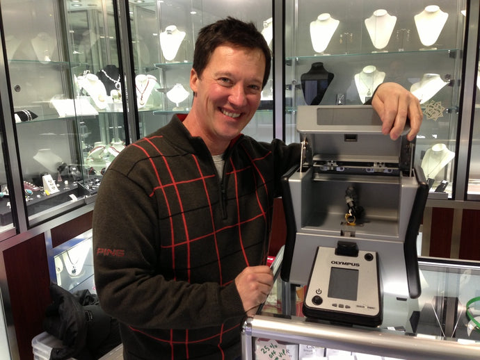 XRF what?! Gold Reserves first jewellers in country to have new gizmo!