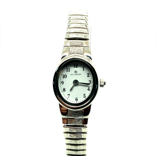 Accurist Ladies Stainless Steel Expander Bracelet Watch Ref 8051