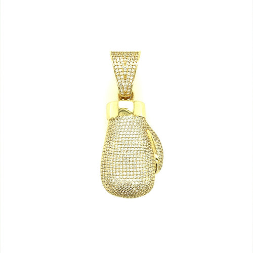9ct Gold Boxing Glove Pendant