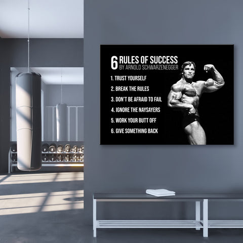 6 Rules of Arnold - GENERATION SUCCESS