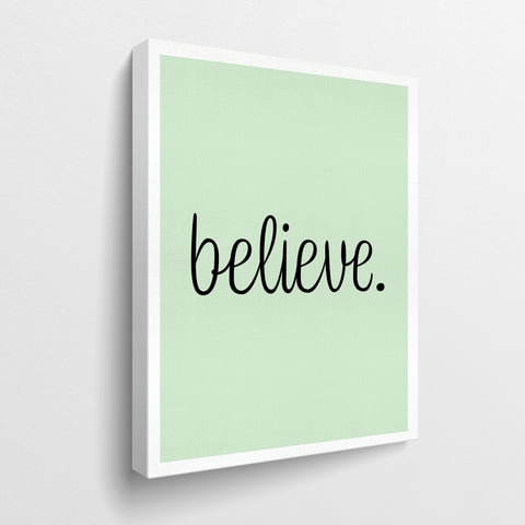believe. - GENERATION SUCCESS