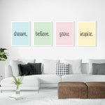 believe. dream. grow. inspire. - Bundle - GENERATION SUCCESS