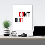 Don't Quit - GENERATION SUCCESS