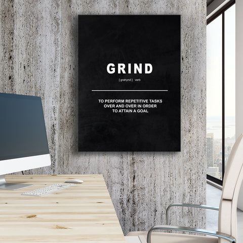 Grind - Definition - GENERATION SUCCESS