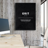 Grit - Definition - GENERATION SUCCESS