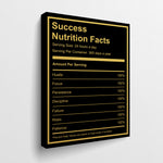 Success Nutrition Facts - GENERATION SUCCESS