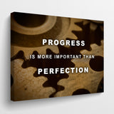 Progress over perfection - GENERATION SUCCESS
